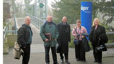 Mungo Smith: Trip to Draeger Medical's HQ in Lubeck, Germany