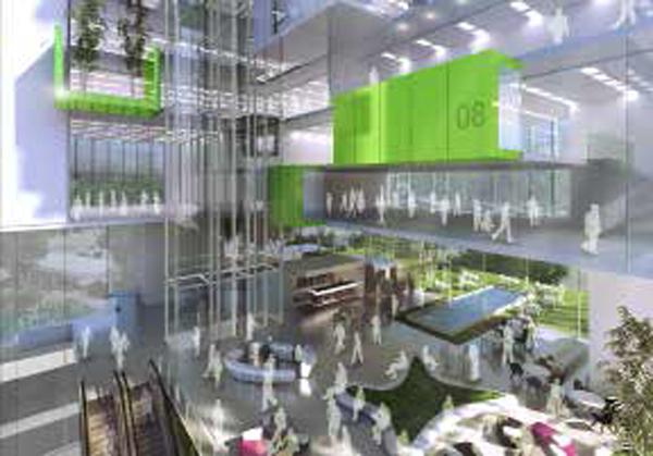 Raffles Hospital Extension, Singapore