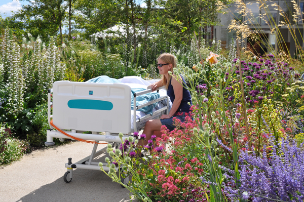 Horatio's Garden, Duke of Cornwall Spinal Treatment Centre, Salisbury