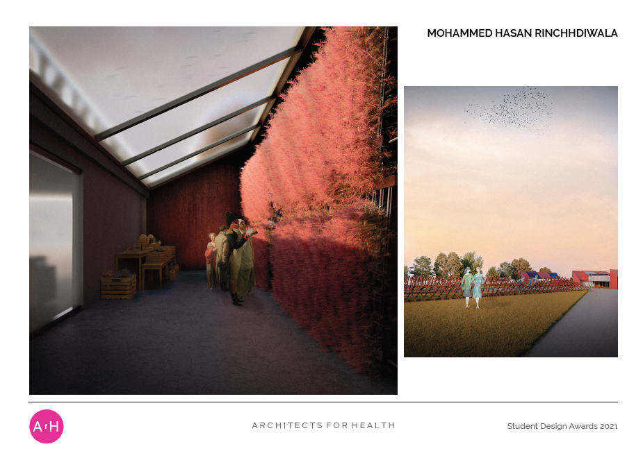 Mohammed Hasan Rinchhdiwala THE BREATHING MACHINE 'A Factory of Smog Reduction' University of Huddersfield Winner Best Concept